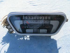 1953 1954 1955 Ford Truck Instrument cluster speedometer F100 F250 F350 OEM