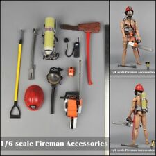 21st Century 1/6 Fireman Helmet Mask Tools Set Accessories For 12'' Figure Toys