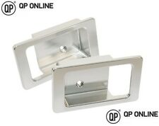 DEFENDER DOOR HANDLE SURROUND PAIR SILVER ANODISED ALUMINIUM BRAND NEW DA8954