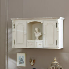 Cream Cupboard Shelf Drawers storage French chic living room bedroom bathroom