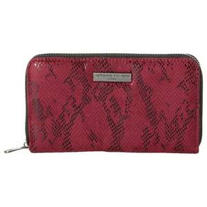 Womens Adrienne Vittadini Zip Around with Back Card Wallet