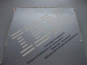 IBM WHEELWRITER DAISY WHEEL OLD WORLD TYPE STYLE