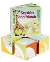 Sophie La Giraffe Friends Book Puzzle Blocks Stack Build Interactive Christmas