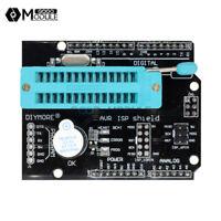 AVR ISP Shield Burning Burn Bootloader Programmer for Arduino UNO R3