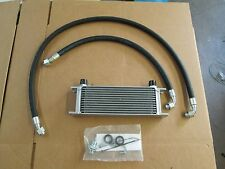 New MGA MGB 13 Row Oil Cooler Kit 1955-1974  Lines Cooler & Fitting Hardware