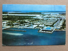 Jack Tar Keys Motor Lodge Marathon Shores Florida Vintage Postcard Posted 1962