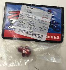 Zipty Racing Red Anodized Magnetic Drain Plug Kxf250F Kawasaki