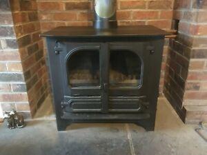 Dunsley Highlander 10 Log Burner Central Heating Stove Ideal Hot Tub Project