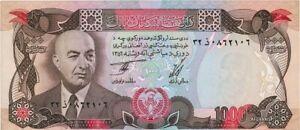 Banknote Afghanistan 1000 afghanis 1977 UNC
