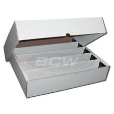 25 - BCW 5000 Count With Full Lid Baseball Trading Card Storage Boxes