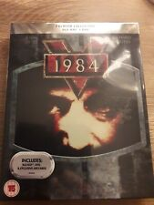 BLU-RAY + DVD 1984   PREMIUM EXCLUSIVE EDITION NEW SEALED WITH EXCLUSIVE ARTCARD
