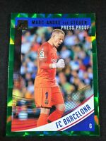 18-19 Panini Donruss Soccer Marc Andre Ter Stegen Barcelona #8 Green Press Proof