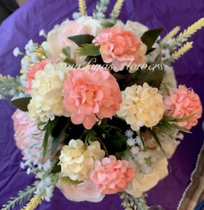 Creamy Colors  Flower Arrangement, Only One I Made -American Seller