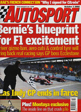 Autosport 3 Oct 2002 - United States GP, Heinz Harald Frentzen, Ferrari, Rally.