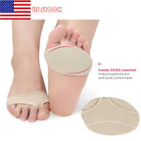 2PCS Metatarsal Pads Ball of Foot Forefoot Cushion Silicone Gel Arch Pain Relief