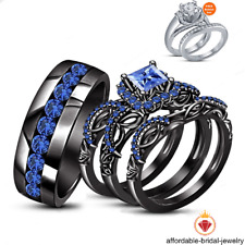 Sapphire Engagement Wedding Ring Sets eBay