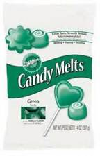 Dark Green Wilton Candy Melts 12 oz Molds Holidays Vanilla Flavor