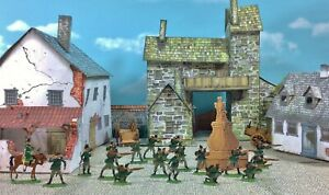 30MM FLAT ZINNFIGUREN FRANCO-PRUSSIAN WAR 1870 PRUSSIAN  ORIGINAL BOX & PAINTING