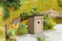 Noch 14359 HO/OO Gauge Outhouses Laser Cut Minis Kit