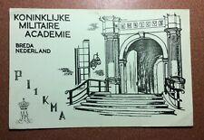 Nederland Postcard 1970 BREDA Koninklijke Militaire Academie QSL PI1KMA Radio