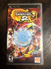 Naruto Ultimate Ninja Heroes 2- Psp ( Sony Playstation ) Complete W/box & Manual