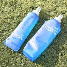 250/500ml Foldable Outdoor Bottle Soft TPU Flask Running Sports Water Bottles