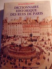 Dictionnaire historique des rues de Paris - Jacques Hillairet - Ed.de Minuit.