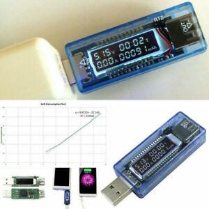 USB Charger Doctor Tester Voltage Meter Ammeter Amp Volt Tester Power Detector