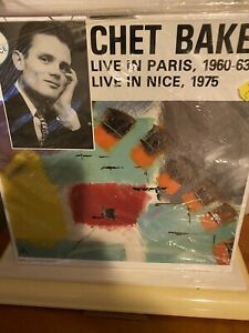 Chet Baker Live In Paris 1960-63 Lp
