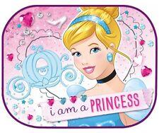 2x Disney Princess 2 Kids Baby Children Girl Car Window Sun Shades 44x35cm