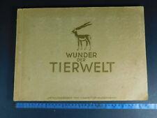 WW2 German book; Animals of the world card album
