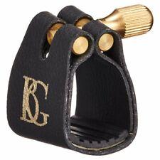 More details for bg france l12 standard ligature & cap for alto saxophone gold