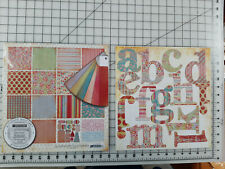 Basic Grey Lollipop Shoppe Collection Pack Plus Monograms NIP Lovely!