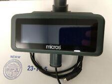 Micros Pole Lcd Display Ws 4 Ws 4lx Ws 5 Amp Ws5a Pn 500827 007 No Pole