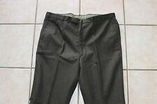 Ancien pantalon - Grand-père - Marron / Vert - Neuf sans étiquette