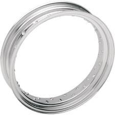 Drag Specialties Custom Spun Steel Rims 40 Spoke - Chrome 0210-0020 03634-00SC