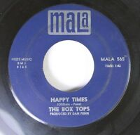 Rock 45 The Box Tops - Happy Times / The Letter On Mala