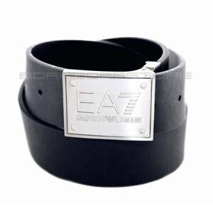 Emporio Armani EA7 Men's Belt mod. 245524 Black