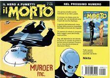 Fumetto Noir IL MORTO n.22 Variant Cover