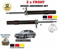 FOR BMW 5 E39 1995-2004 520 523 525 530 2x FRONT SHOCK SHOCKERS ABSORBER SET