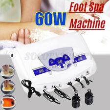 Dual Ionic Cell Detox Foot Bath Spa Machine Home Relax LCD w/ Mp3 Music Player