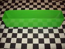 "16"" GREEN TOOL BOX AEROSOL SPRAY CAN HOLDER snap 2 use- hang on side PAINT"