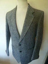 mens CENTAUR grey harris tweed sports jacket - size 40R great condition