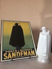 "Wedgewood Decanter ""Moonstone� Sandeman Sherry & Poster"