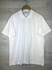 Adidas Y3 Yohji Yamamoto Polo Shirt Top, Sz XL White