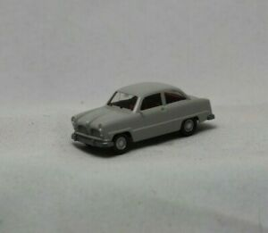 Wiking Germany HO 1:87 Scale Ford 12m Grey