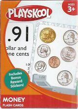 money flash cards playskool 2011 new