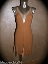 robe chair lycra VANNINA VESPERINI taille 36  NEUF ÉTIQUETTE * GRAND LUXE *