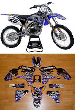 2003-2005 YAMAHA YZF 250 450 BAD BOY Motocross Graphics Dirt Bike Graphics