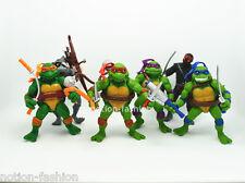 Lot 6 Teenage Mutant Ninja Turtles action figures Leonardo Donatello Toys TMNT